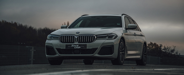 BMW 540d   Dyno   100-200km/h   Chip Tuning RaceChip